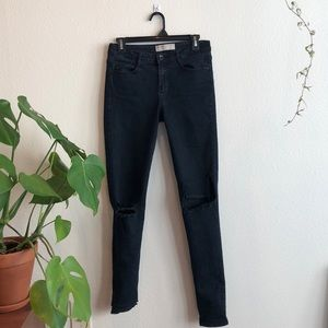 Cotton On ripped-knee Jeans